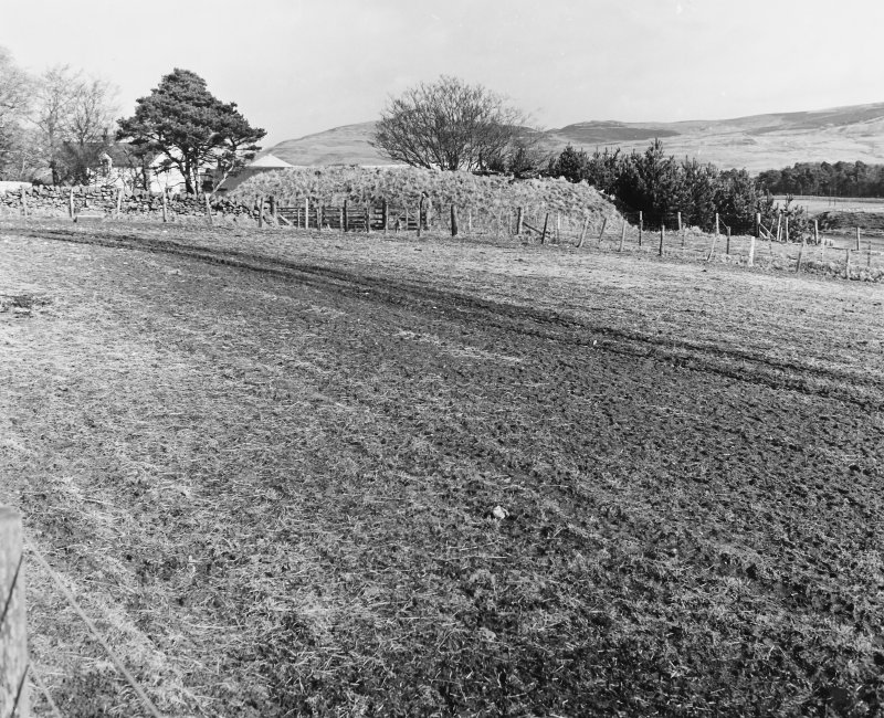Roberton, motte: general view from SW C Tabraham, 1979
