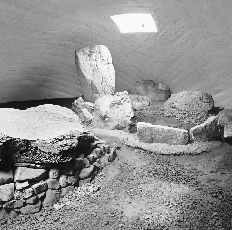 View of interior with cist NMRS Survey of Private Collections