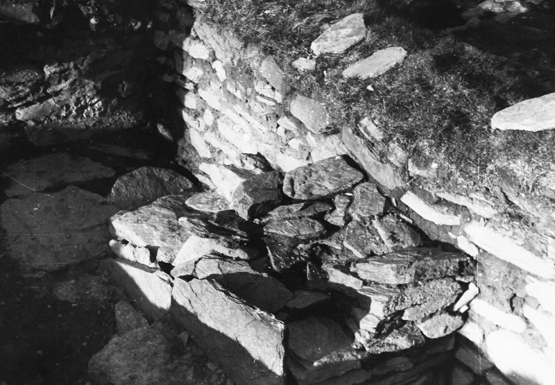 Photograph taken during excavation. Altar from SW.