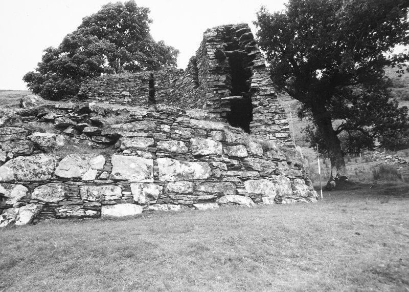 View of broch from East.