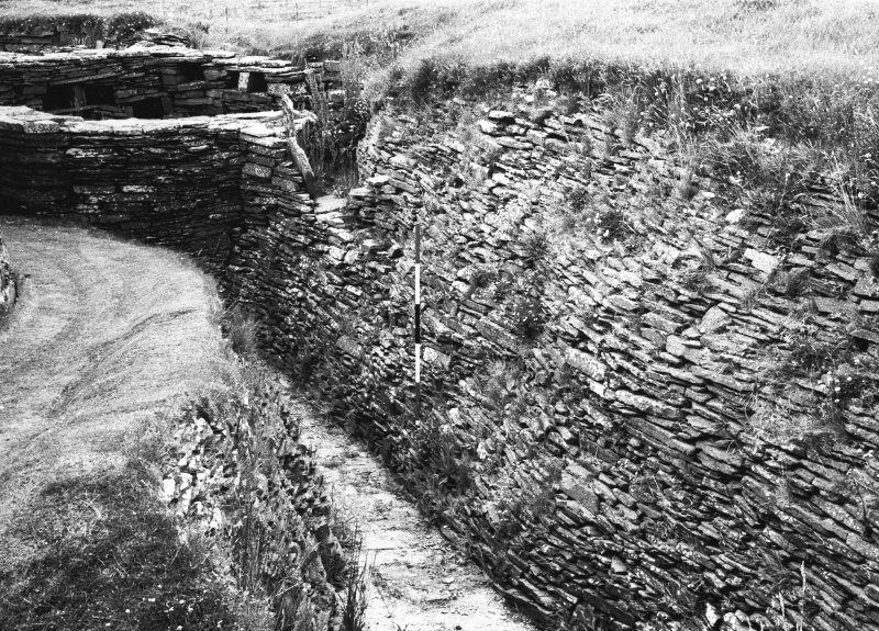 Inner outer ditch