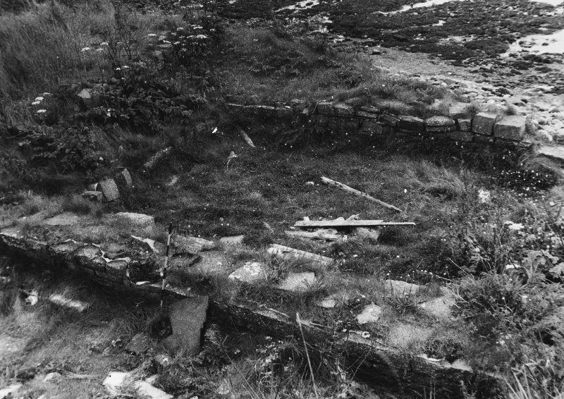 Excavated building by Brothwell c1970 R Lamb