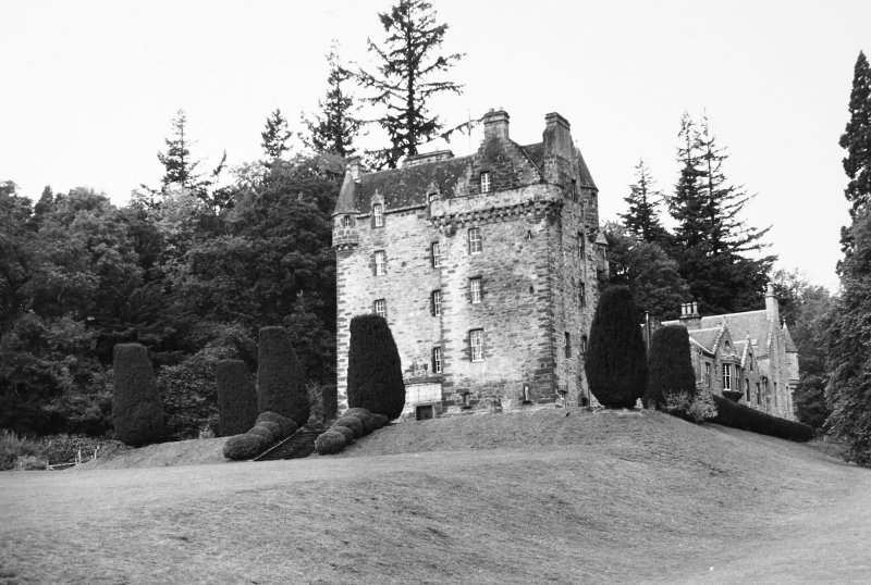 Castle Leod. View from South East
