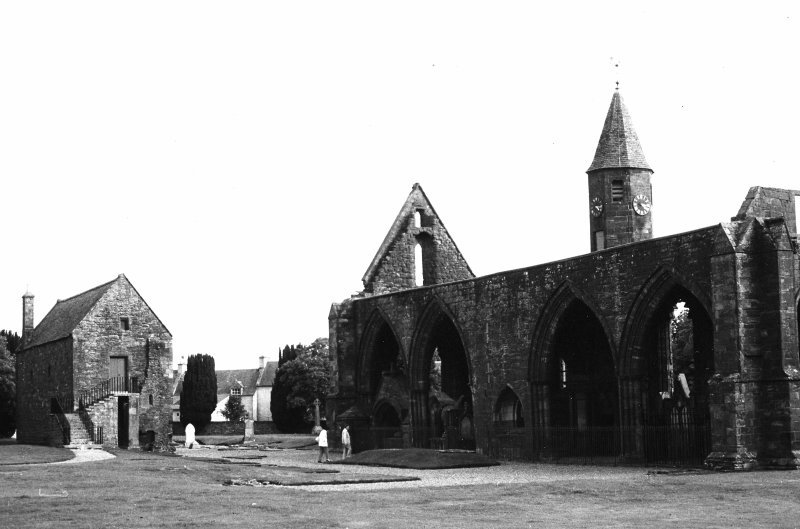 General view of remains of Cathedral and Chapter House