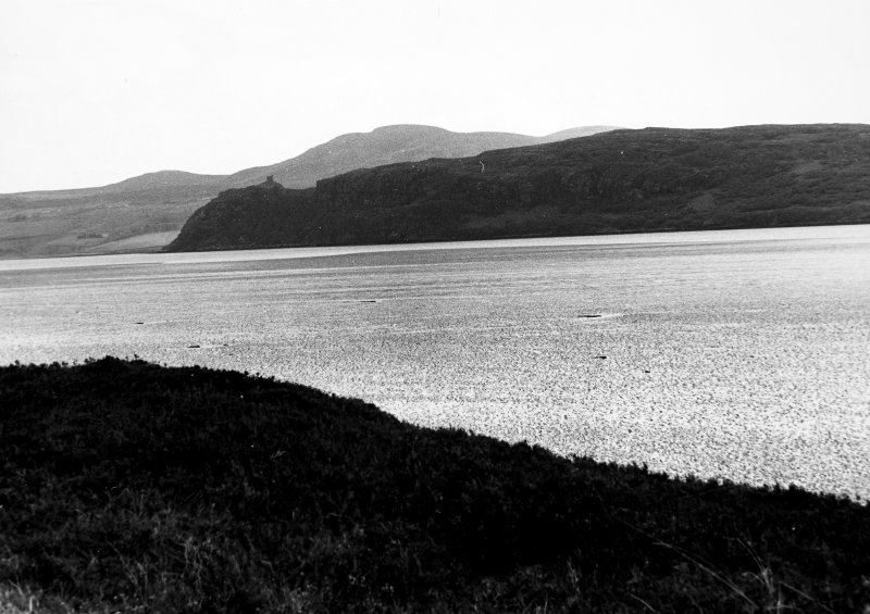 Distant view from West shore of Kyle of Tongue