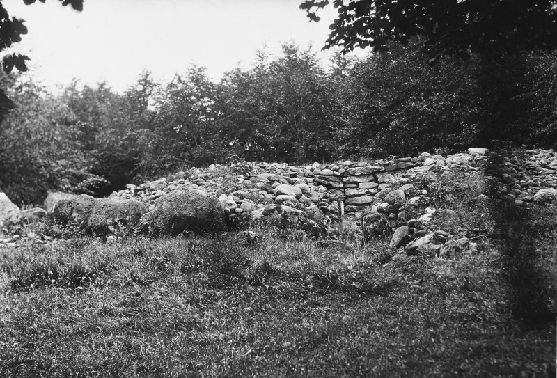View of cairn from south-west.