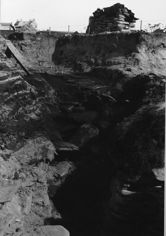 Excavation Photograph: Roof of passage C.
