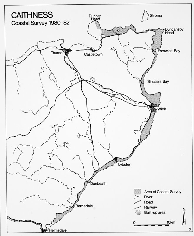 General survey area plan.