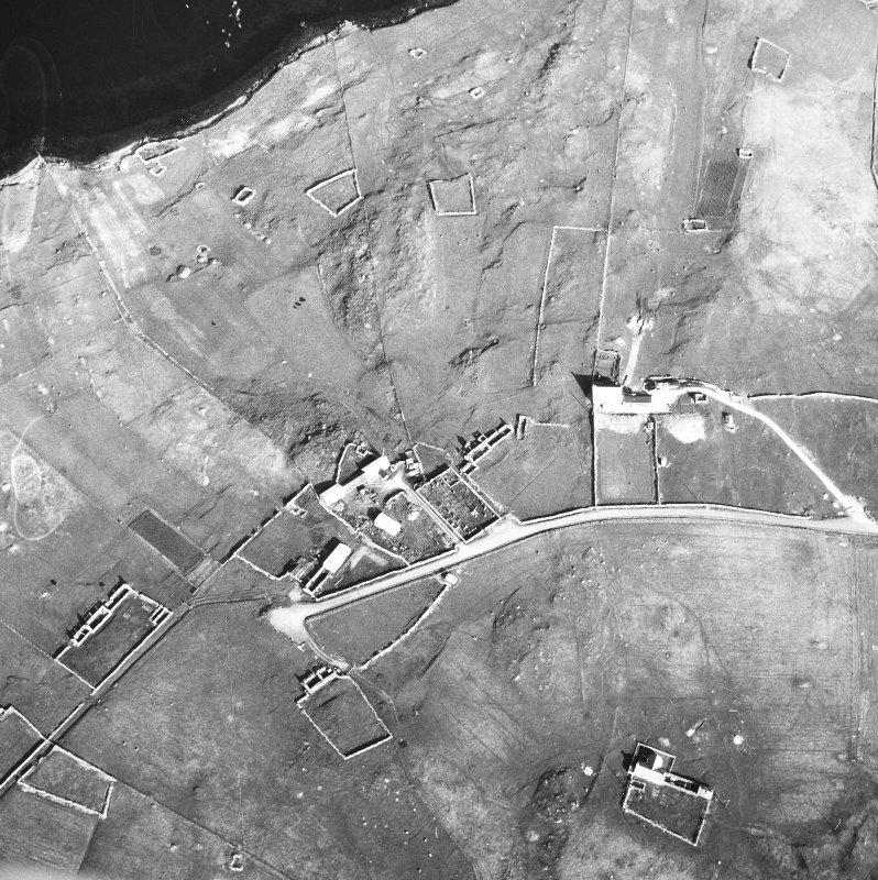 Oblique aerial photograph.