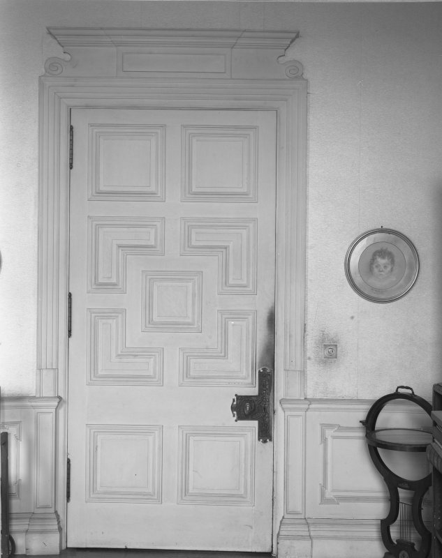 Interior. Door to Music Room.