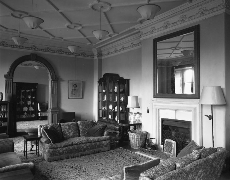 Interior. Sitting room.