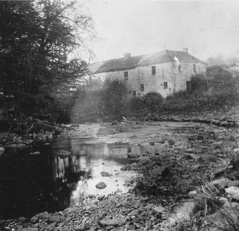 Copy of historic photograrph showing view of Howarth Mill.