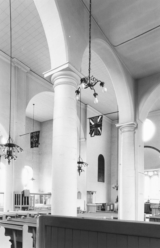 Interior view of Canongate Church.