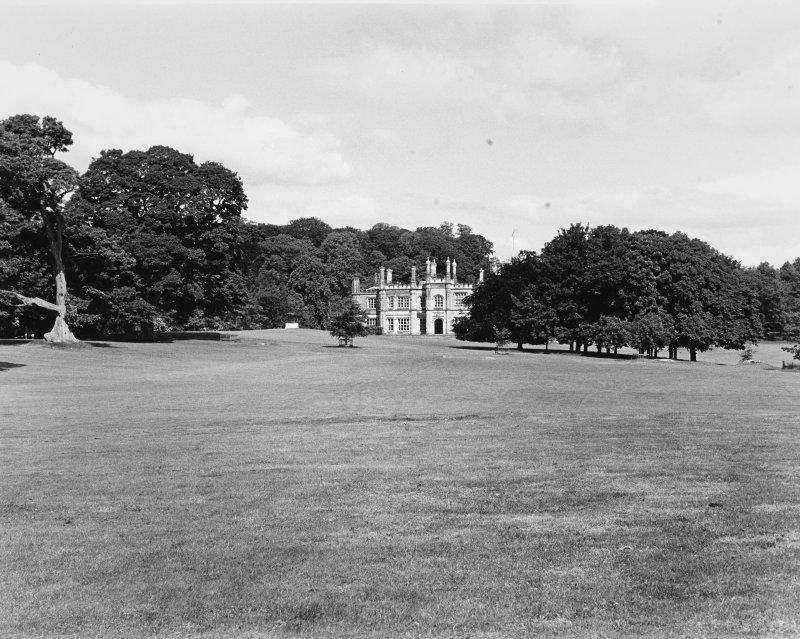 Dalmeny House. View from South East.
