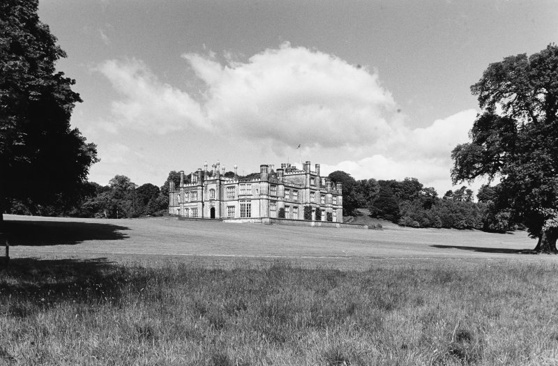 Dalmeny House. View from East.