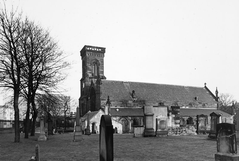 General view of church and churchyard