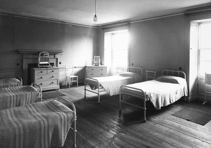 Interior. View of dormitory.