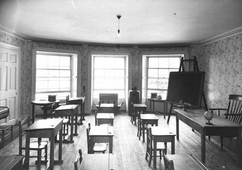 Minto House, interior View of classroom