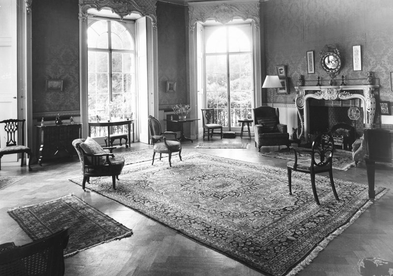 Minto House, interior View of drawing room