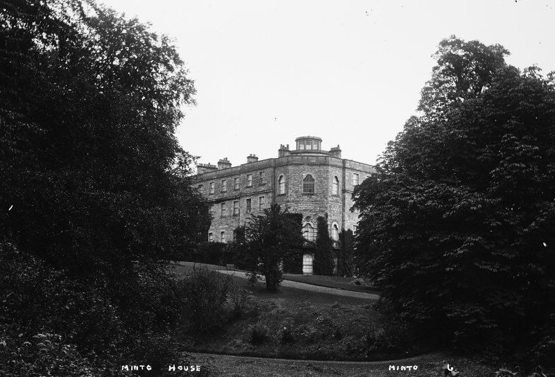 Minto House View from South West, titled 'Minto House' 'Minto 6'