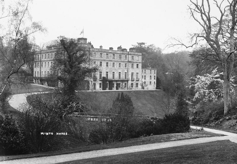 Minto House View from South, titled 'Minto House'