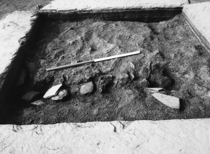 Excavation photograph - Central setting from E.