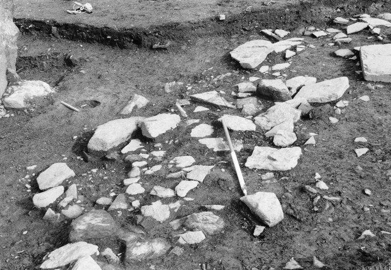 Excavation photograph - 'Pathway' from S.E.