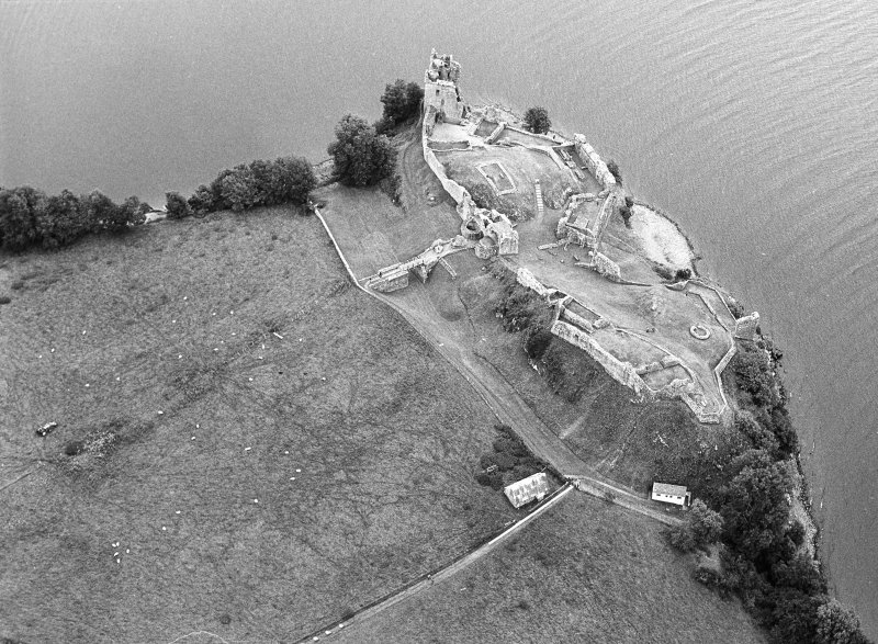 Aerial view of Castle