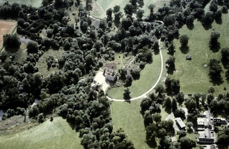 Minto House Aerial view from North East