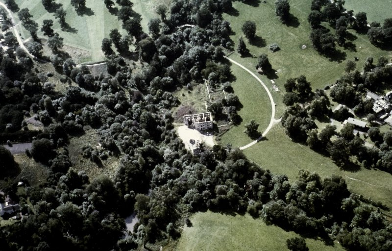 Minto House Aerial view from East North East