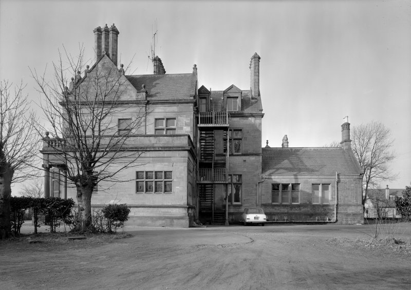 View of Cairndhu Hotel, Helensburgh, from east.