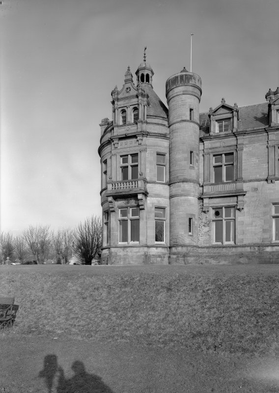 General view of Cairndhu Hotel, Ardrossan, from South.
