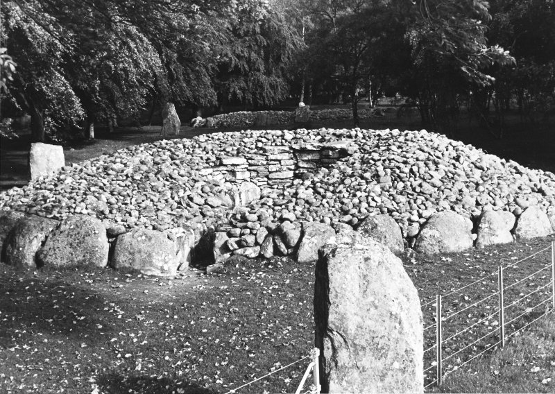 Excavation photograph : view from south-west.