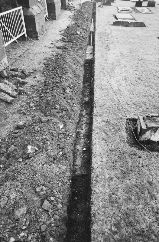 Excavation photograph - View along Trench 1