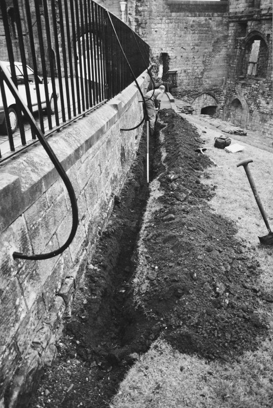 Excavation photograph - Excavation of Trench IV - from N