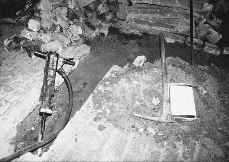 Excavation photograph - Excavation in The Pends - from S