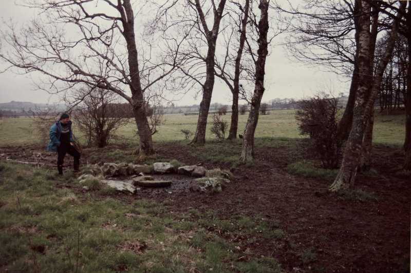 Photograph taken during Inspector's visit to establish condition of monument.