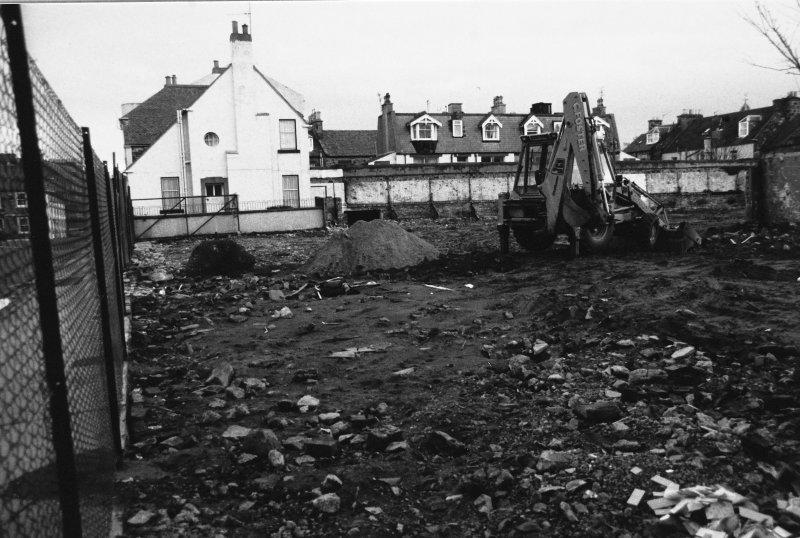 Excavation photograph : location of trench C.