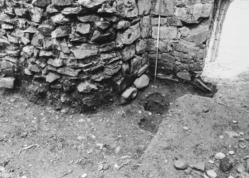 Rossdhu Castle Excavations, June and August/September 1996 Frame 7 - Pits in Trench 20/5 from north