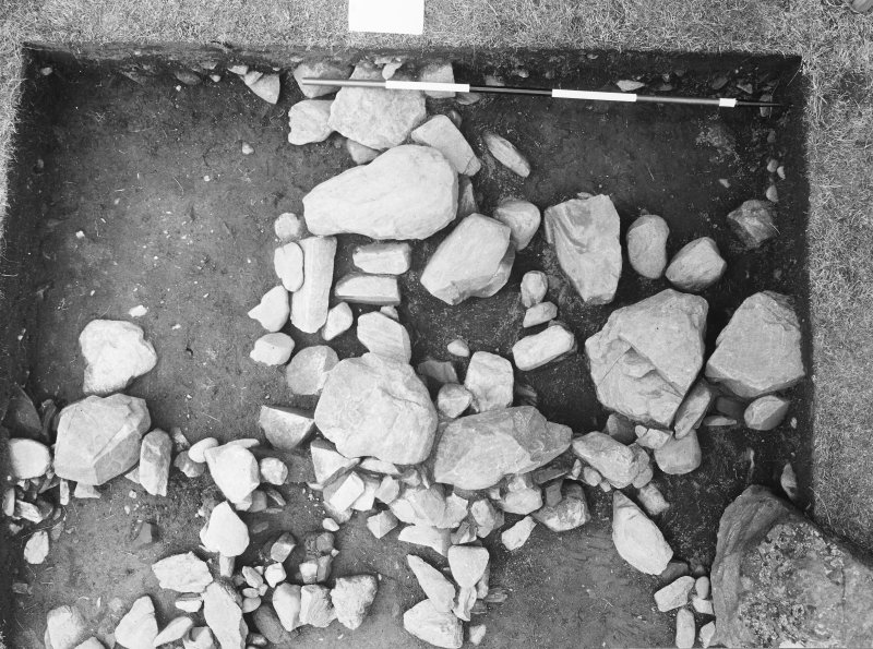 Photographs from excavations at Croft Moraig