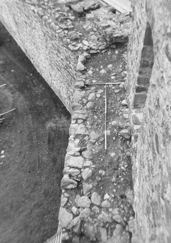 Inverlochy Castle Frame 23 - The junction of the west and north curtain walls; from east