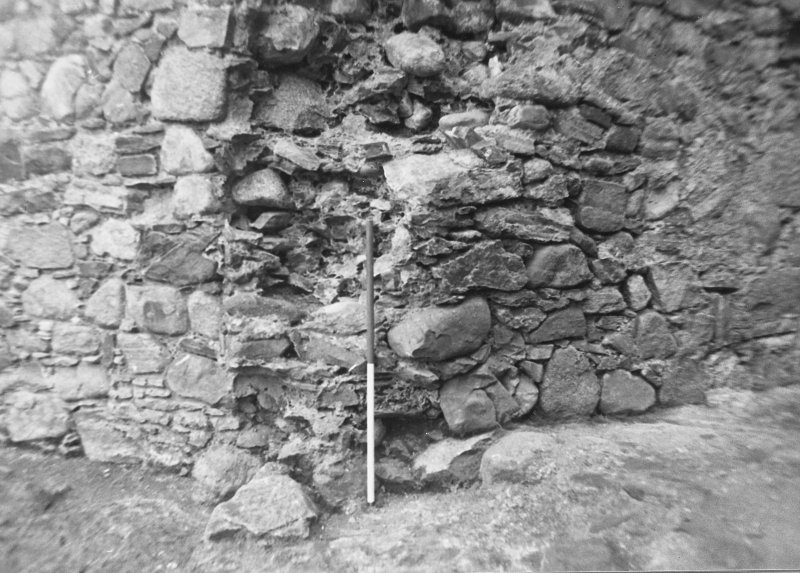 Inverlochy Castle Frame 18 - Left jamb of doorway into southwest tower; from west