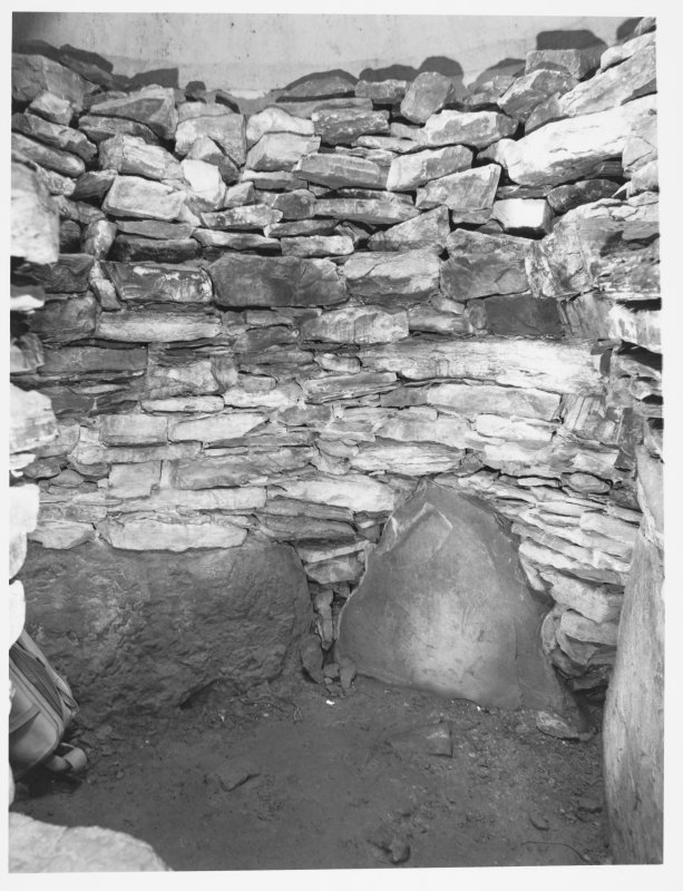 Camster Long Cairn Interior View