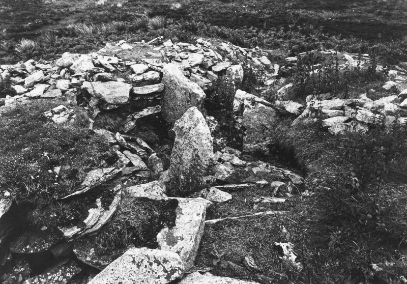 Cairn of Get Caithness Record Before Excavation
