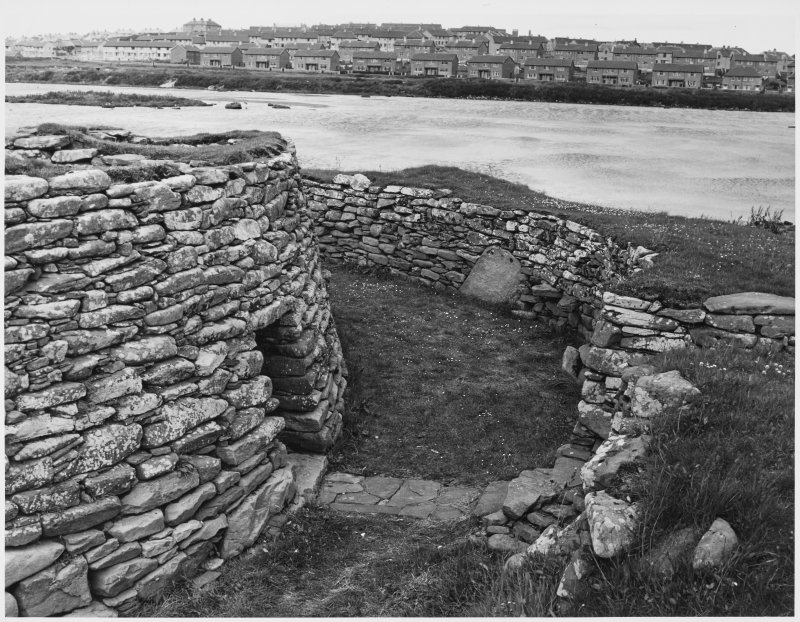 Clickhimin Broch, Zetland, General Views