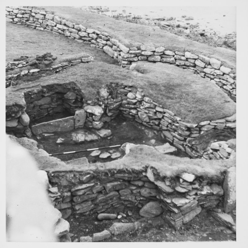 Clickhimin Broch, Lerwick, excavation