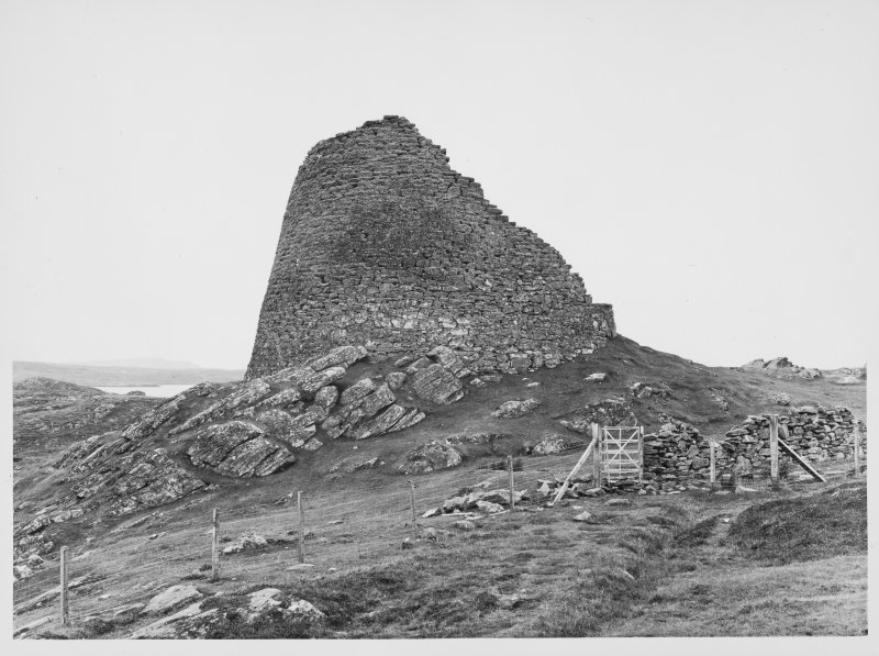 Duncarloway Broch, Lewis, General Views