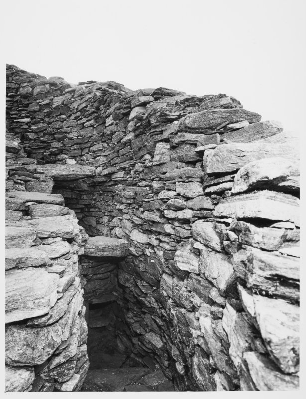 Duncarloway Broch, Lewis, General and Details of exterior and Interior