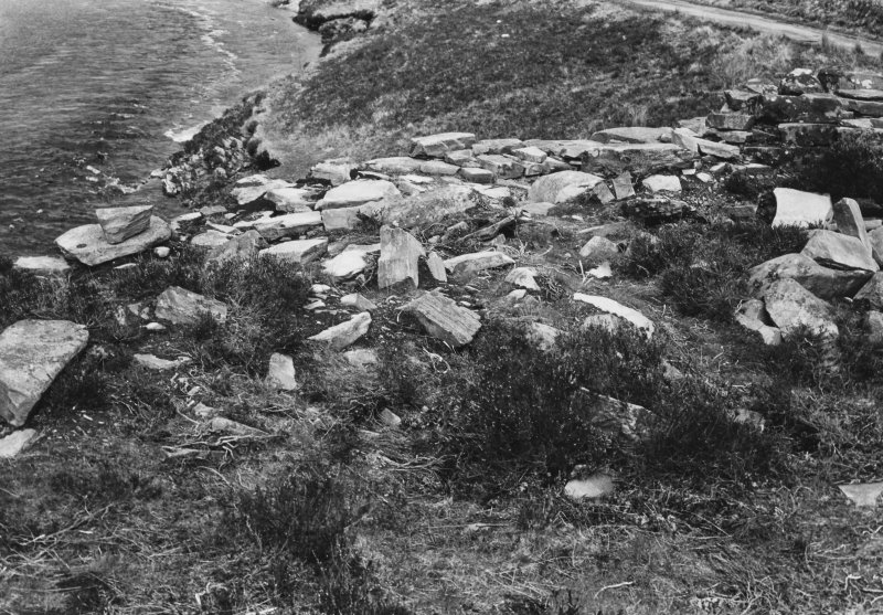 Dundornadilla Broch, Details and General Views prior to excavations