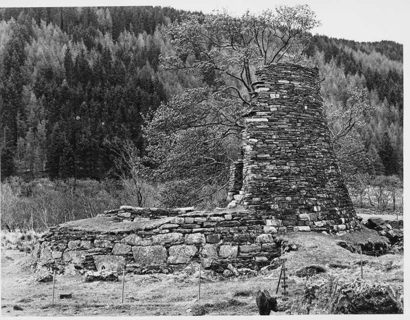 Glenelg Broch, Dun Telve, Exterior Views